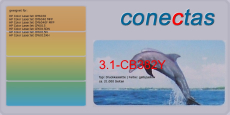 Druckkassette 3.1-CB382Y kompatibel mit HP CB382A