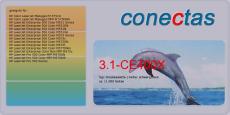 Druckkassette 3.1-CE400X kompatibel mit HP CE400X