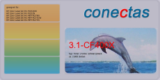 Toner 3.1-CF400X kompatibel mit HP CF400X