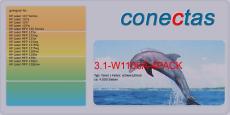 Toner 3.1-W1106A-4PACK kompatibel mit HP W1106A / 106A