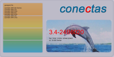Toner 3.4-24B6020 kompatibel mit Lexmark 24B6020