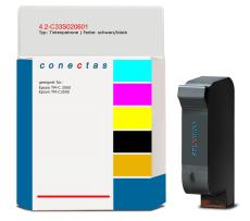 Tintenpatrone 4.2-C33S020601 kompatibel mit Epson C33S020601 / SJIC22P/K