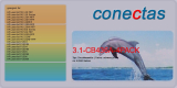 Druckkassette 3.1-CB436A-4PACK kompatibel mit HP CB436A