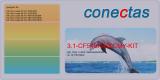 Toner 3.1-CF540X-BKCMY-KIT kompatibel mit HP CF540X
