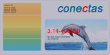 Toner 3.14-406990 kompatibel mit Ricoh 406990