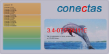 Druckkassette 3.4-0T650H11E kompatibel mit Lexmark 0T650H11E