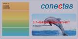 Toner 3.7-46490608-BKCMY-KIT kompatibel mit Oki 46490608 / C