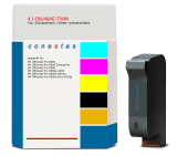 Druckpatrone 4.1-D8J48AE-TWIN kompatibel mit HP D8J48AE / 940XL