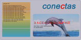 Toner 3.1-CE400X-BKCMY-KIT kompatibel mit HP CE400X